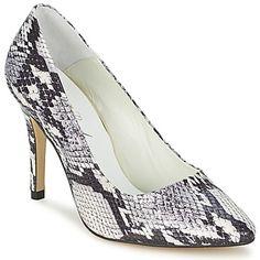 En la categoría zapato de tacón, Serpiente sabe como destacar. Con su corte gris en piel, estos zapatos son 100% tendencia. Cada detalle es trabajado con precisión, desde su tacón de 9 cm, hasta la suela en sintético. La marca prefiere utilizar un forro en cuero y una plantilla en cuero.