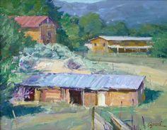 El Prado Adobes / Walt Gonske / 16.00x20.00 / $6500.00/ Sold