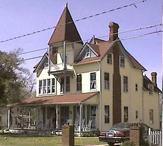Summer home of telephone inventor Alexander Graham Bell is on Irving Ave. in Colonial Beach, VA. It is a B&B now.