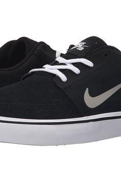 Nike SB Portmore (Black/White/Gum Light Brown/Medium Grey) Men's Skate Shoes - Nike SB, Portmore, 725027-012, Footwear Athletic Skate, Skate, Athletic, Footwear, Shoes, Gift, - Street Fashion And Style Ideas