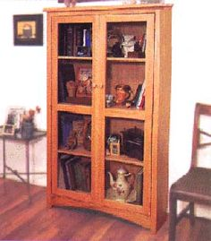 Craftsman Bookcase Woodworking Plans