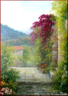 Antonietta Varallo ~ Landscape painter | Tutt'Art@ | Pittura * Scultura * Poesia * Musica |