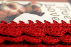 Crocheted Valentine Cards
