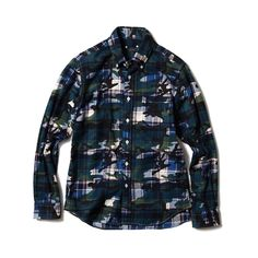 Sophnet Camo over Flannel