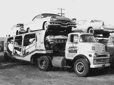 1957 Dodge COE Square Deal by PAcarhauler, via Flickr | Towing  Auto Transport Insurance www.TravisBarlow.com: