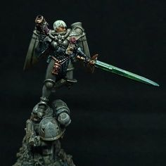 40k Sisters Of Battle, Warhammer 40k, Samurai, Initials, Sci Fi, Army, Darth Vader, Miniatures, How To Plan