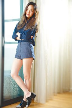 Krystal Jung ... I'm adoring this outfit.