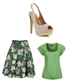 """""""Untitled #4576"""" by ania18018970 on Polyvore featuring Daniel Hechter, Oscar de la Renta and Miss Selfridge"""