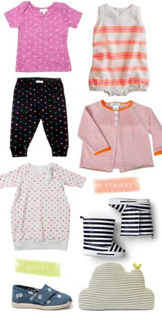 ...and a whole lot of cuteness! — Joy DOTTY {top to bottom}: Zef baby tee and Zef leggings, Anais