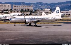 VARIG CONVAIR 240, at SDU, credit to the author