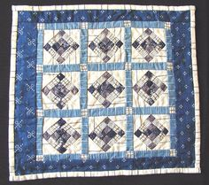 Kate Adams, IGMA fellow - hand stitched quilt, 1987