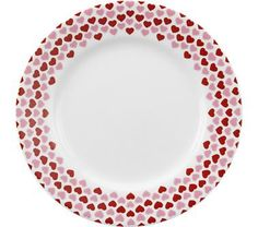 Crate and Barrel - Valentine Plate shopping in Crate and Barrel New Tabletop