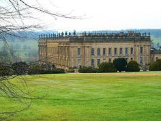 Chatsworth House, country seat of the Duke of Devonshire