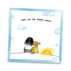 My mini art prints offer beautiful reproductions of my original pen & ink/watercolor drawings. Size: x Printed on premium bright-white recycled paper. Printed on both sides. Comes packaged in an archival sleeve with sturdy chipboard backing Cartoon Dog, Dog Cartoons, Chihuahua Love, Rainbow Bridge, Pet Memorials, Dog Quotes, Dog Accessories, My Happy Place, Dog Mom