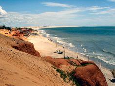 Canoa Quebrada Beach Ceara - Northeast of Brazil