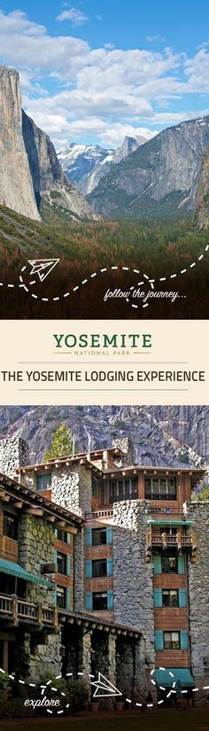 Do you want to stay in the park when you visit Yosemite National Park? There are a wide variety of lodging options at Yosemite National Park, CA. Click through to discover where to stay in this beautiful California national park. Vacation Places, Vacation Trips, Vacation Spots, Places To Travel, Travel Destinations, Places To Visit, Route 66, Florida Keys, San Diego