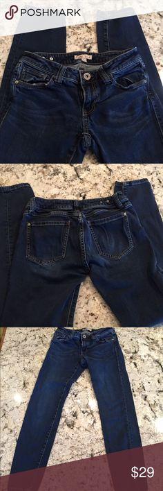 CAbi Dark Skinny Jeans Comfy skinny jeans in good condition CAbi Jeans Skinny