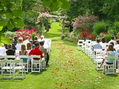 Tennessee Outdoor Garden Wedding Location in the Smoky Mountains-another one to look up!!