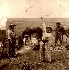 The American Cowboy, by Jun Joseph Nimmo for Harper's Bizarre, 1886.