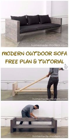 DIY Outdoor Seating Projects Tutorials & Free Plans 2019 DIY Outdoor Seating Projects Tutorials DIY Modern Outdoor Sofa Tutorial The post DIY Outdoor Seating Projects Tutorials & Free Plans 2019 appeared first on Patio Diy.