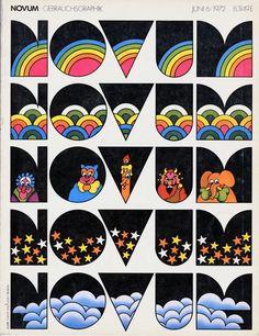 NOVUM Gebrauchsgraphik – June 1972