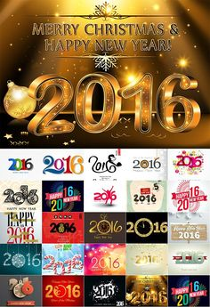 Happy new year 2016 Happy New Year 2016, Happy New Year Greetings, Merry Christmas And Happy New Year, Red Christmas, Happy Holidays, Holiday Party Outfit, Holiday Fun, New Years Eve 2017, New Years Eve Decorations