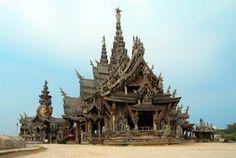 The Sanctuary of Truth near Pattaya