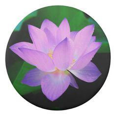 Lilac Lotus Flower Eraser - flowers floral flower design unique style