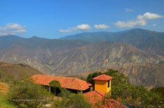 PANACHI Parque Nacional del Chicamocha Santander, COLOMBIA