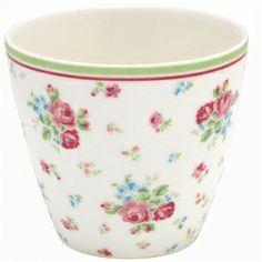 Tasse à lait fleuris Claire Multicolour GREENGATE - STWLATCLA9106