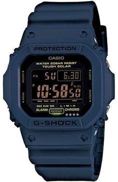 f0f115726aa Encontre Relogio Casio G Shock G 5600 Nv 2 Solar 5 Alarmes Wr Az no Mercado  Livre Brasil. Descubra a melhor forma de comprar online.