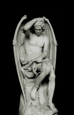 Lucifer in white marble for the Cathedral of St. Paul, Liège  Charlemagne (1843), statue in the Basilica of Saint Servatius in Maastricht