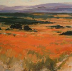 artnet Galleries: Vast Bloom by Petria Mitchell from Lanoue Fine Art Klimt, Abstract Landscape, Landscape Paintings, Australia Landscape, Painter Artist, Classic Paintings, Still Life Art, Impressionist Art, Pictures To Paint