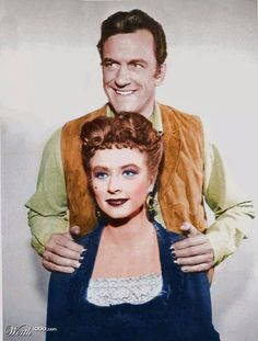 "~ Matt Dillon & Kitty Russell ~ ....................................................""Gunsmoke"" Debuted In 1955 & Aired For 20 Years"