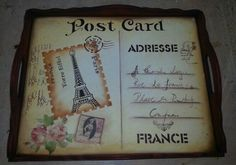 Bandeja Post Card