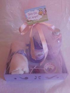souvenir set de spa,regalo día del maestro/secretaria, etc. Mars Project, Diy Kits, Soap Making, Margarita, Party Planning, Baby Gifts, Birthday Gifts, Shabby Chic, Xmas