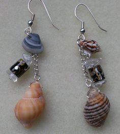 Real Seashell Earrings