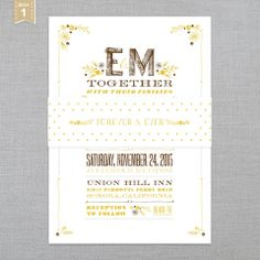 ICE CREAM SOCIAL • Rustic Romance • Ready-Made Collection Shoppe: Bellyband  • Letterpress • 2 styles • Register & receive FREE SHIPPING off your 1st Order :)