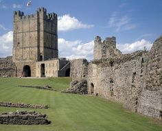 Richmond Castle via English Heritage My thinking spot! Right there are the top.