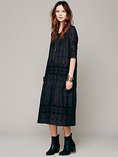 Free People Luciole Shift Dress