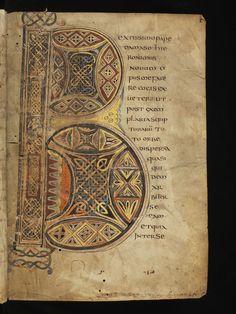 Genève, Bibliothèque de Genève, Ms. lat. 6, f. 2r – The four Latin Gospels