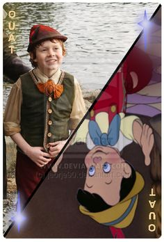 OUAT Special Card Pinocchio Real Boy by jeorje90.deviantart.com on @DeviantArt