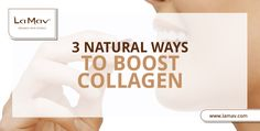 Though collagen, when added to creams/serum, doesn't do much for your skin, there are other means to boost collagen synthesis. Let's see how!