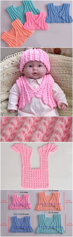 Crochet Colorful Baby Jacket Step By Step