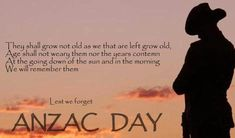 ANZAC Day, April is the most important date in Australia's and New Zealand's calendar. Lest We Forget Anzac Day Facts, Anzac Day Quotes, Melbourne, Sydney, Lest We Forget Anzac, Army Quotes, Facts For Kids, Remembrance Day, Remembrance Quotes