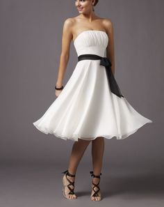 Strapless dresses are the best!