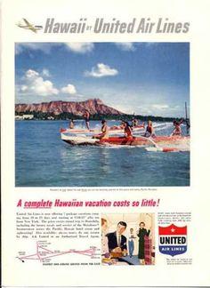 Hawaii United Airlines Catamaran (1953)