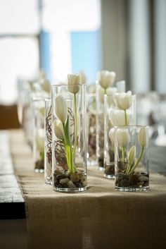Modern white rustic wedding 13