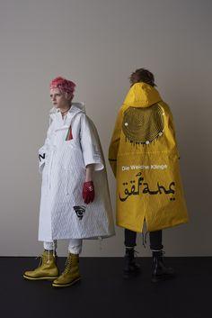 「アンダーカバー(UNDERCOVER)」が2018年春夏メンズ・コレクションを発表した。