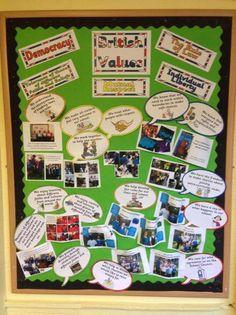british values - Google Search School Displays, Classroom Displays, Classroom Themes, Classroom Organization, British Values Display Eyfs, British Values Eyfs, Prevent Duty, People Who Help Us, British Schools